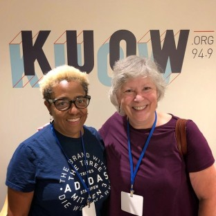 Meg and Lynne KUOW